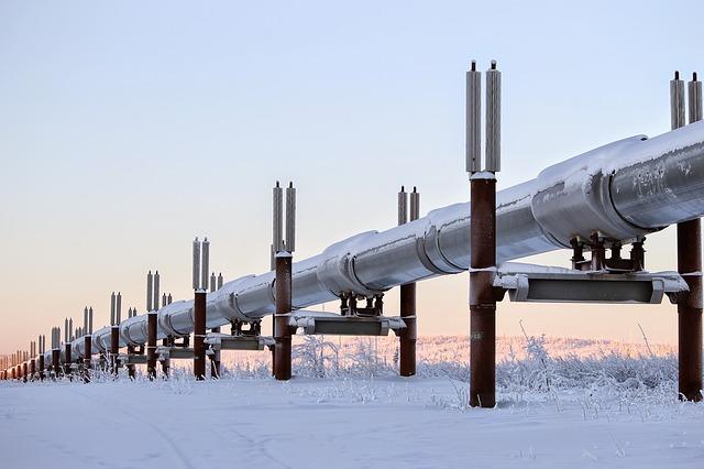 Inwestowanie w gaz ziemny - gazociąg na Alasce