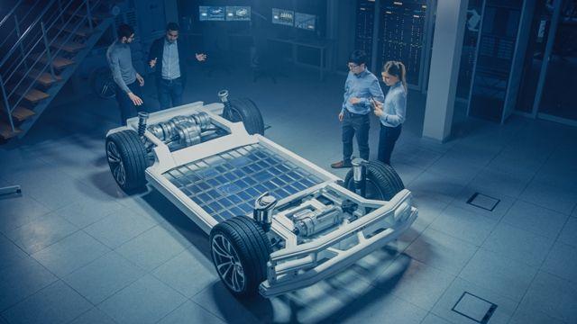 Inwestowanie w lit - akumulatory samochodu elektrycznego